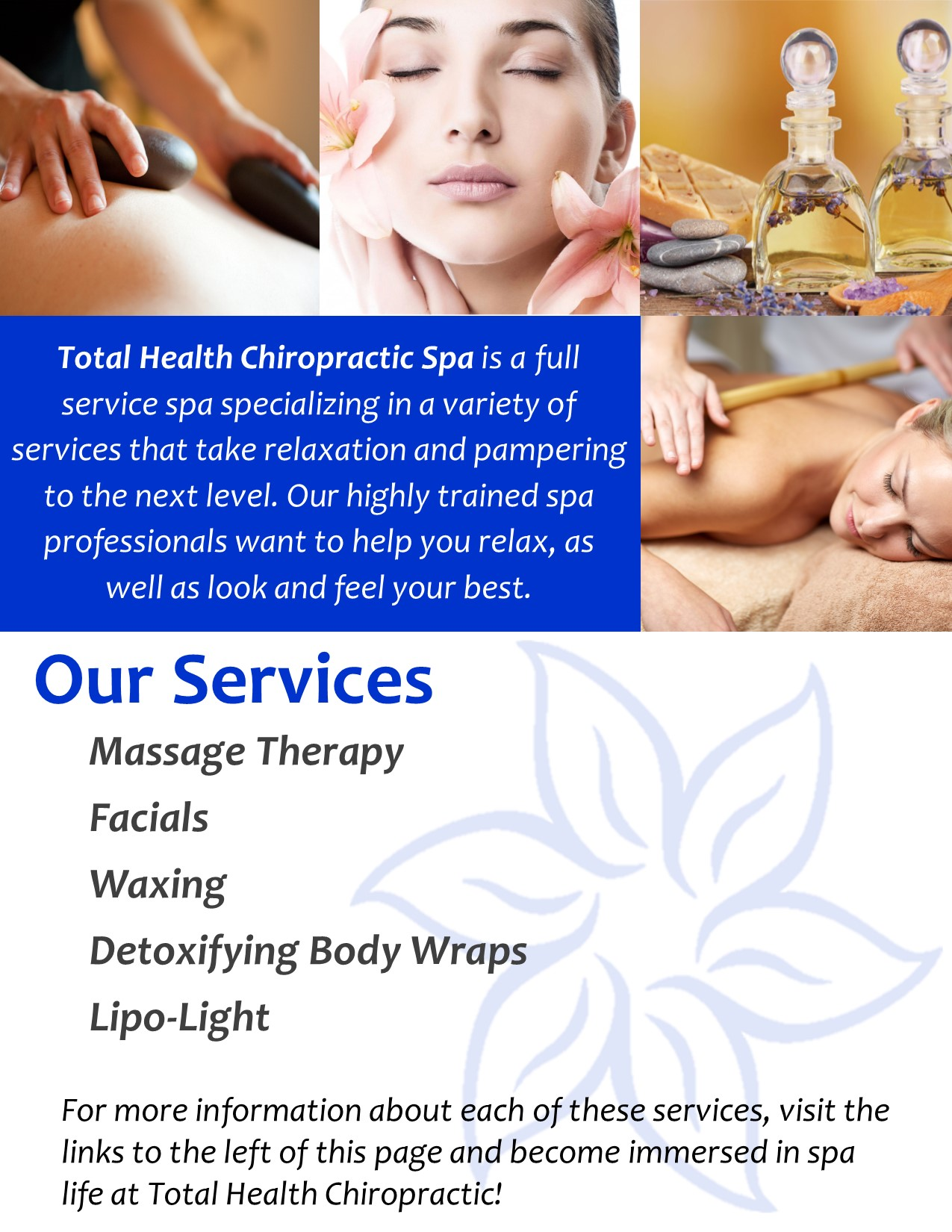 Spa Page